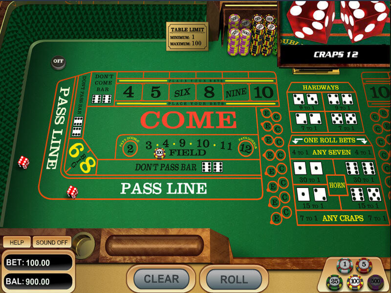 Craps Online in US Casinos